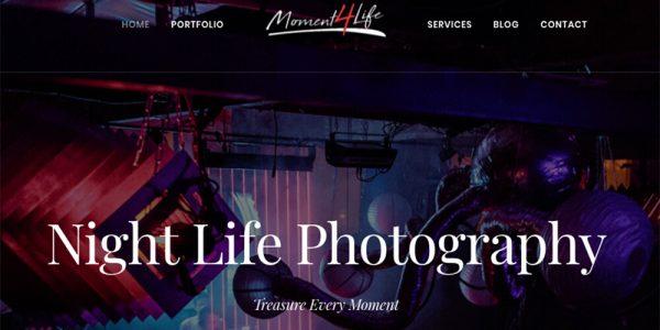 M4L Photography Website